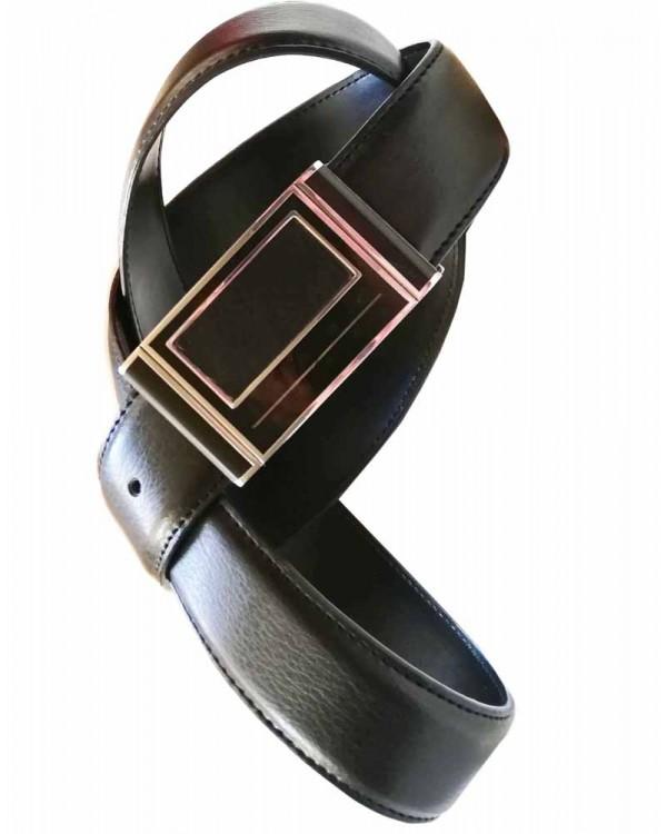 Ремень 3.7 см с закрытой пряжкой Maroon Belts
